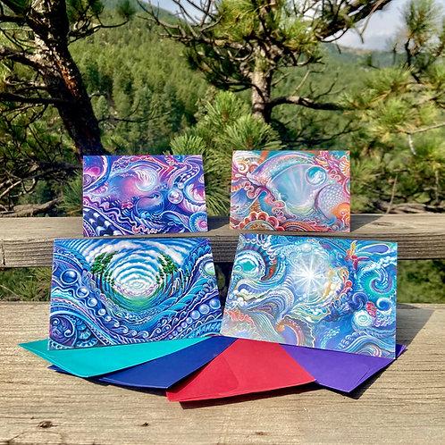 Dialin' Greeting Card Set