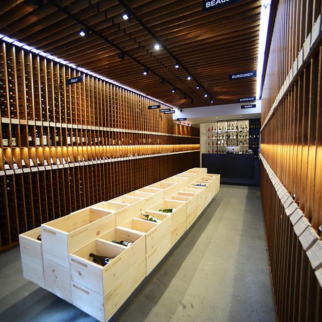 Nolita Wine Store display shelving