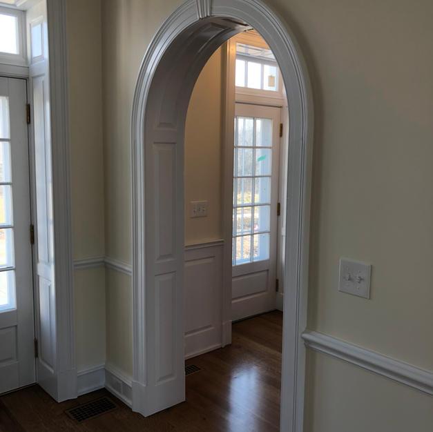 arched door way, custom doors and paneli