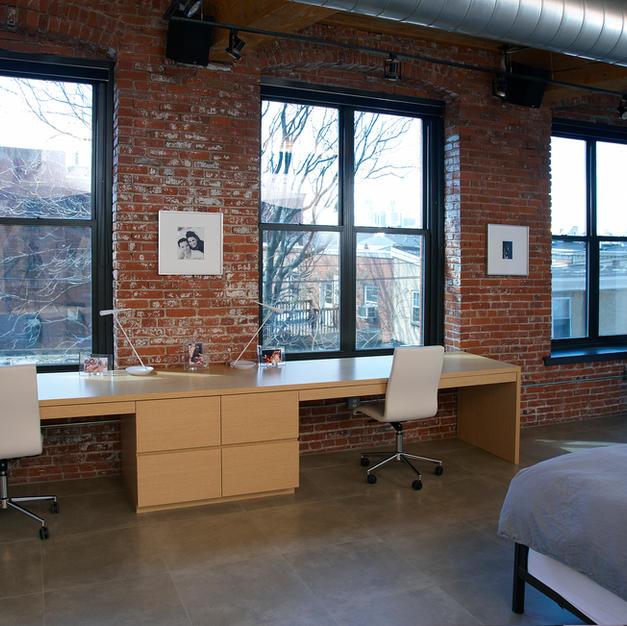 Philadelphia loft renovation