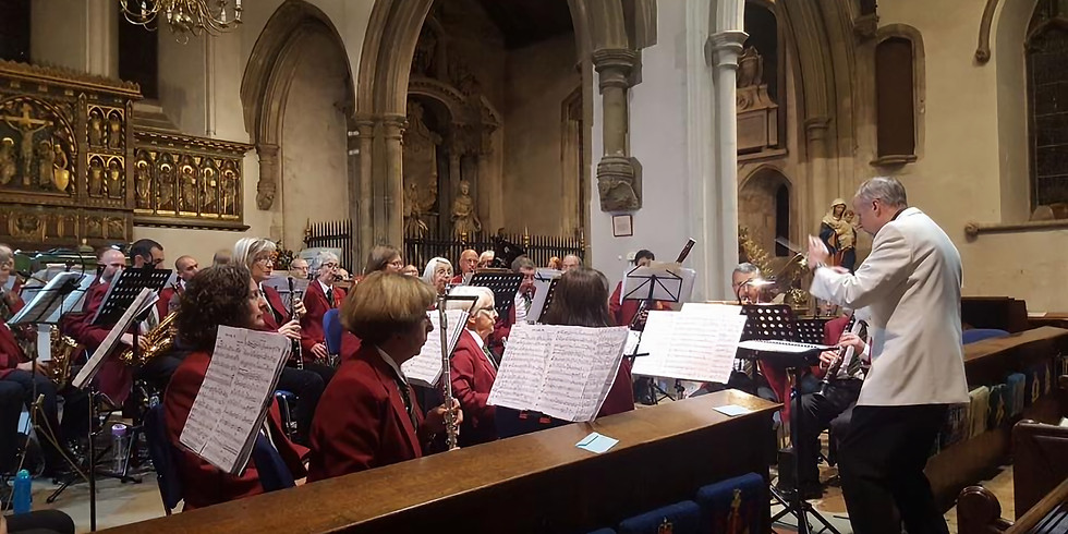 Band of the Surrey Yeomanry Spring Concert