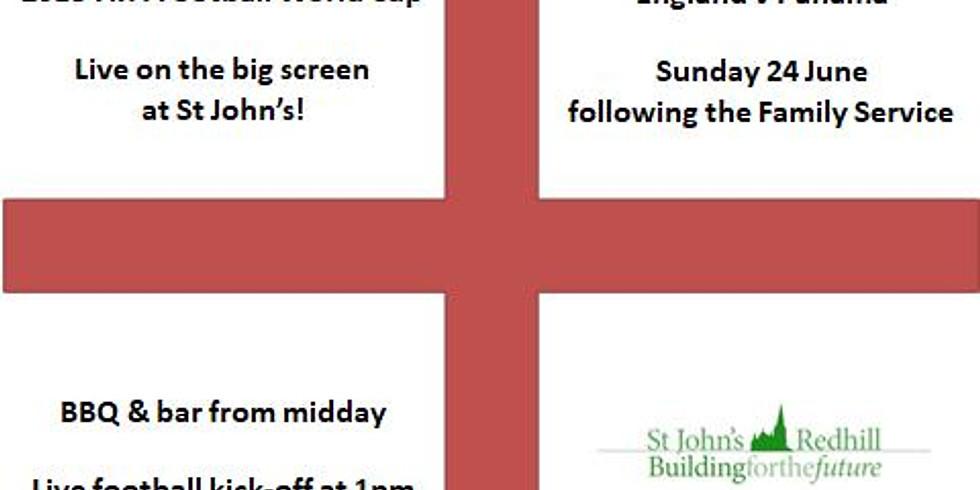 World Cup: England v Panama on the Big Screen