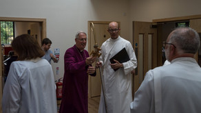 Bishop of Southwark opens new community hall after ordaining deacons as priests
