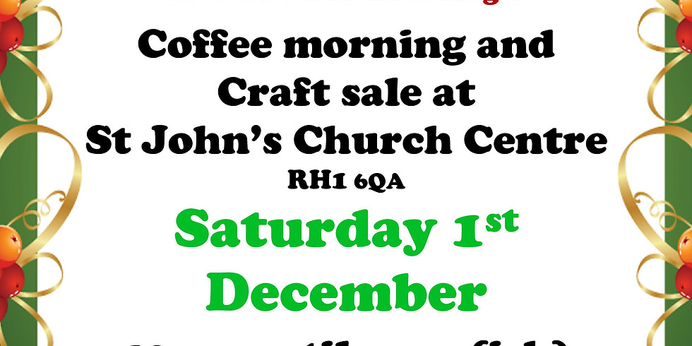 Coffee Morning and Craft Sale by A Good Yarn