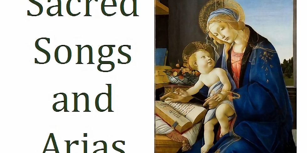 Recital: Sacred Songs and Arias