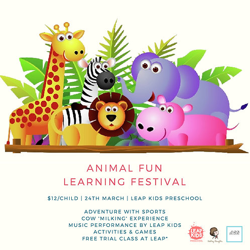 Animal Fun Learning Festival