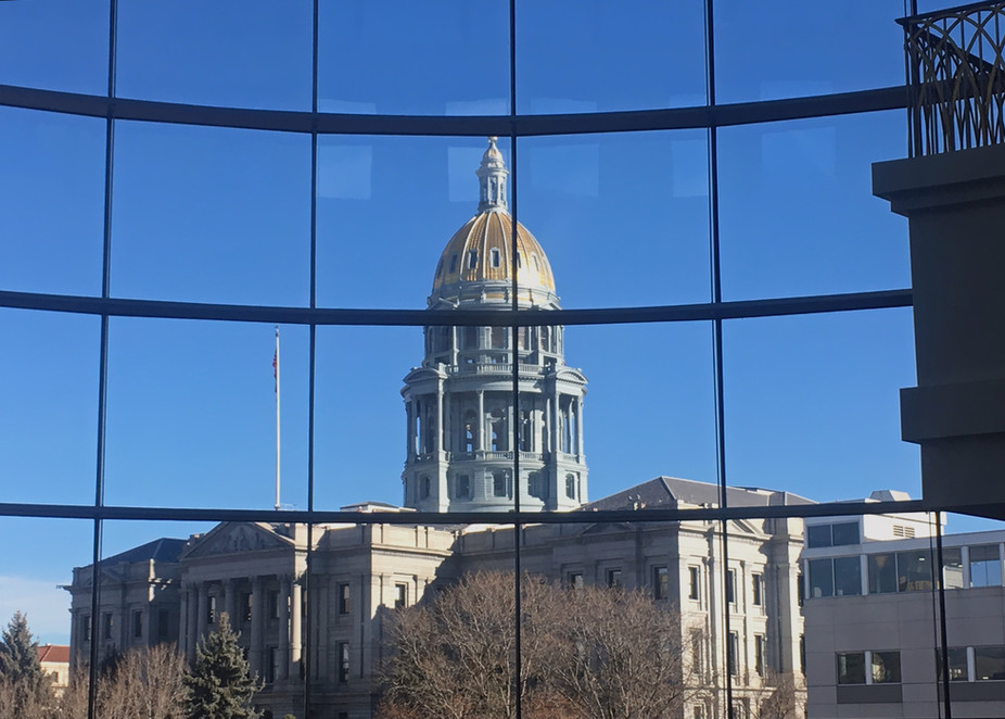 State Capitol Dome from judicial building on day Save Cheyenne's appeal denied.