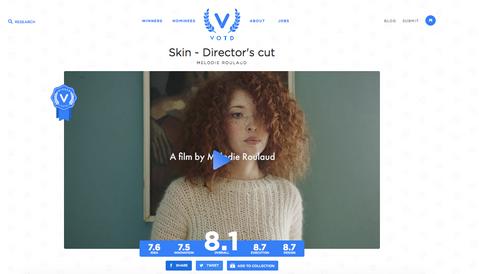 Skin - director's cut wins VOTD