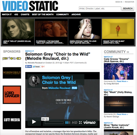Videostatic features 'Choir to the Wild'