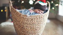 Newborn photography | Christmas pudding anyone?