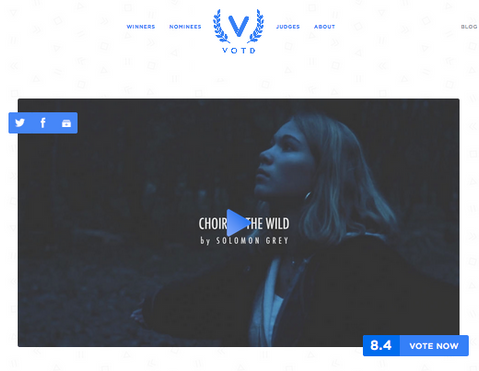 'Choir To The Wild' nominated on VOTD