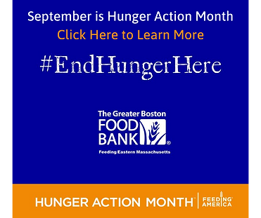 September is Hunger Action Month Click H