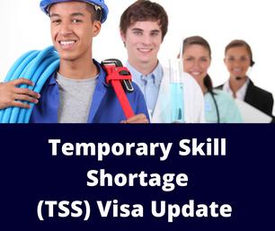 TSS Visa Update