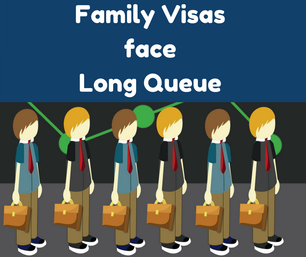Family Visas face long queue