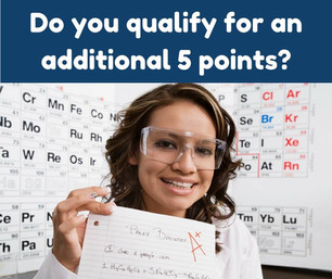 Do you qualify for an additional 5 points?
