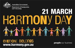 Celebrating Harmony Day