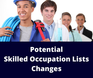 Changes to Skilled Occupation Lists flagged for July 2018