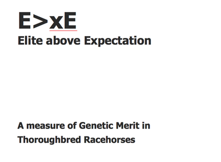 How to rate stallions - Elite above Expectation