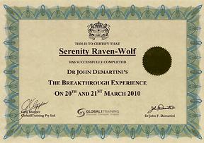 2010: The Breakthrough Experience | wih Dr. John Demartini
