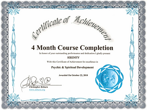 2010: Psychic & Spiritual Development | with Christopher Reburn