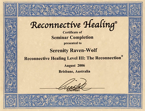 2006: Reconnective Healing: Level 3 | with Dr. Eric Pearl
