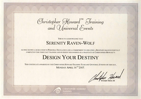 2007: Design Your Destiny | with Chistopher Howard Training