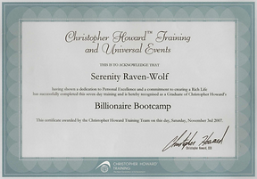 2007: Billionaire Bootcamp | with Christopher Howard