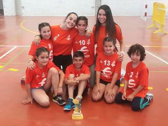 ¡Campeones de la liga Comarca Comunidad de Teruel de voleibol!