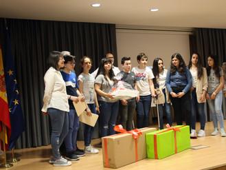 ¡Campeones del Guadalupe Ortiz de química en Zaragoza!