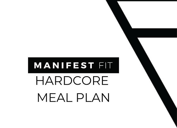 Hardcore Meal Plan