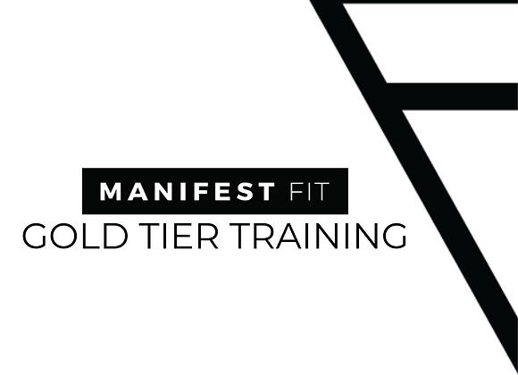 Gold Tier Training
