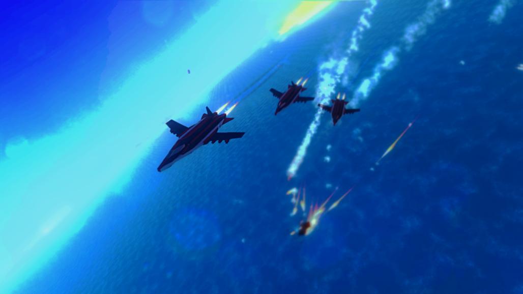 Air combat.