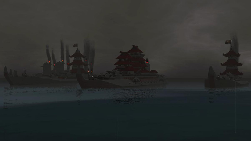 Japanese castle ships? Sure!