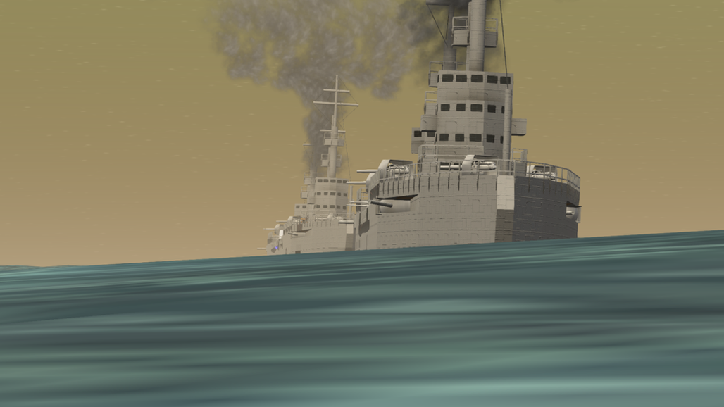 Ships en route to victory.