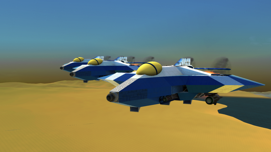 Squadron formation.