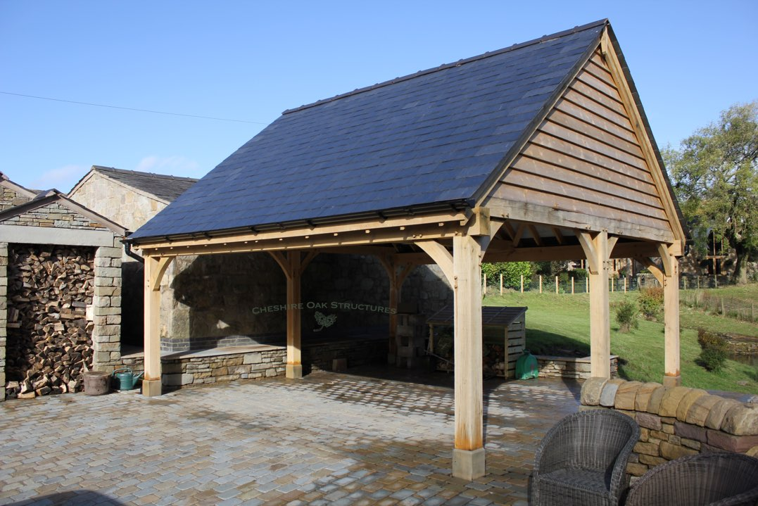 Oak_Frame_Carport_Staffordshire