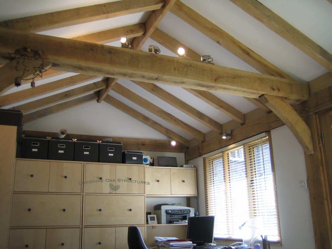 Oak_Frame_Office_Interior_Cheshire