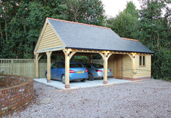 Oak_2_Bay_Carport_with_store_Chester