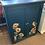 Thumbnail: Teal Sunflower Cupboard