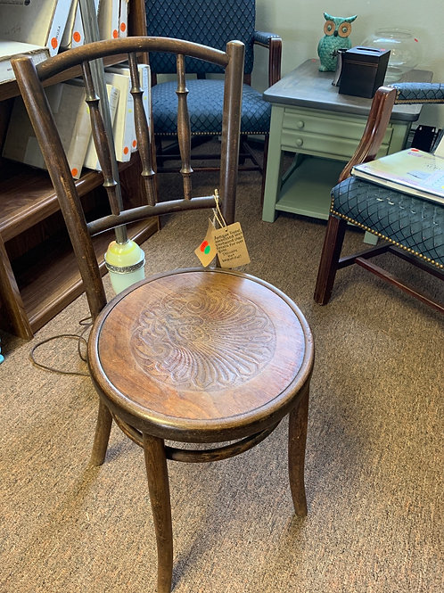Antique Embossed Chair