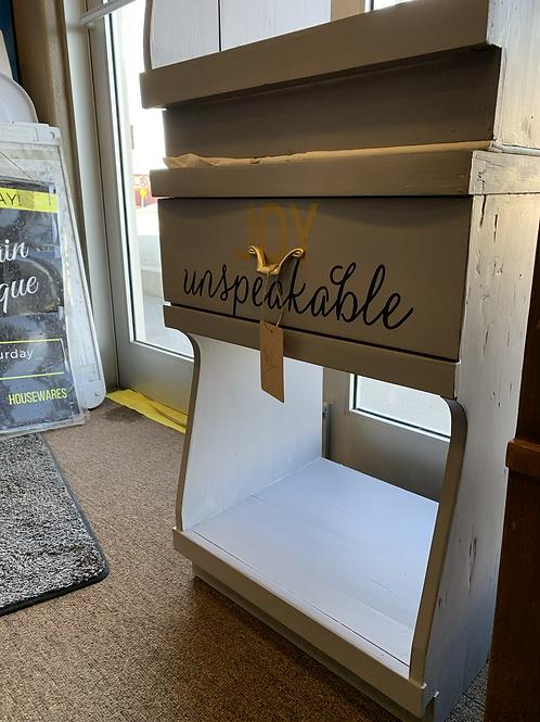 """Joy Unspeakable"" End Table"