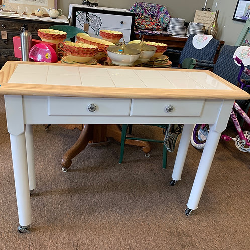 Rolling Kitchen Counter Island