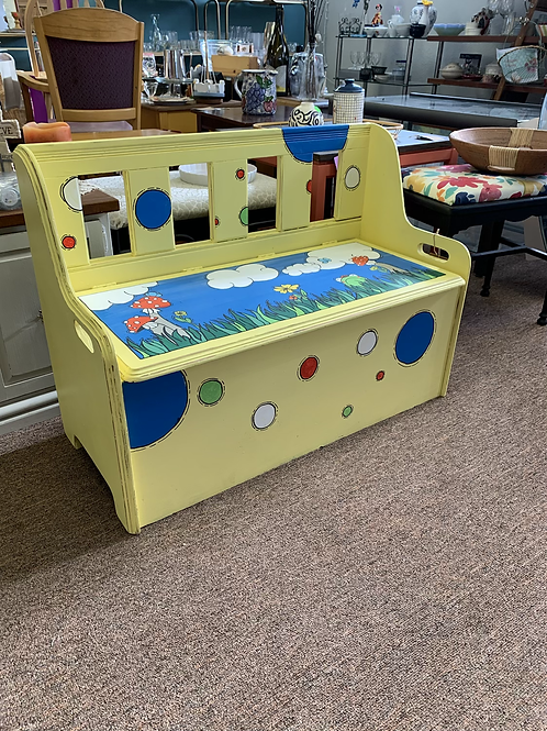Hand painted Kid's Chest