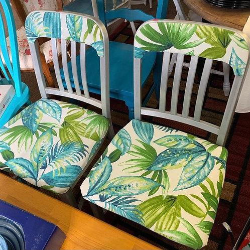 Vintage Leaf Chairs