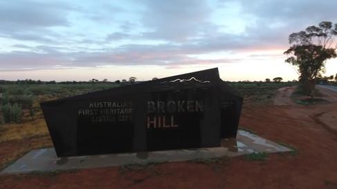 Broken Hill  gateway sign