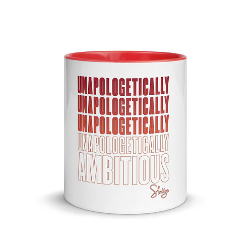 Unapologetically Ambitious Red Mug