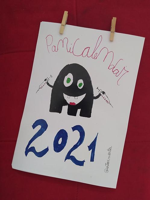 Panicalendar 2021 - envio a partir de 08/01
