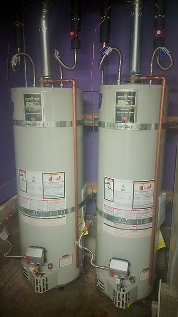 Installation water heaters in San Francisco