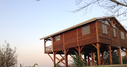 Stilted cabin