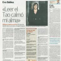 El Periodico, Interview about El Tao, un